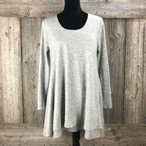 Umgee Layered tunic Top[ Medium Long Sleeve top